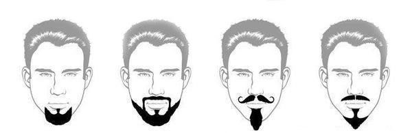Борода клином как сделать